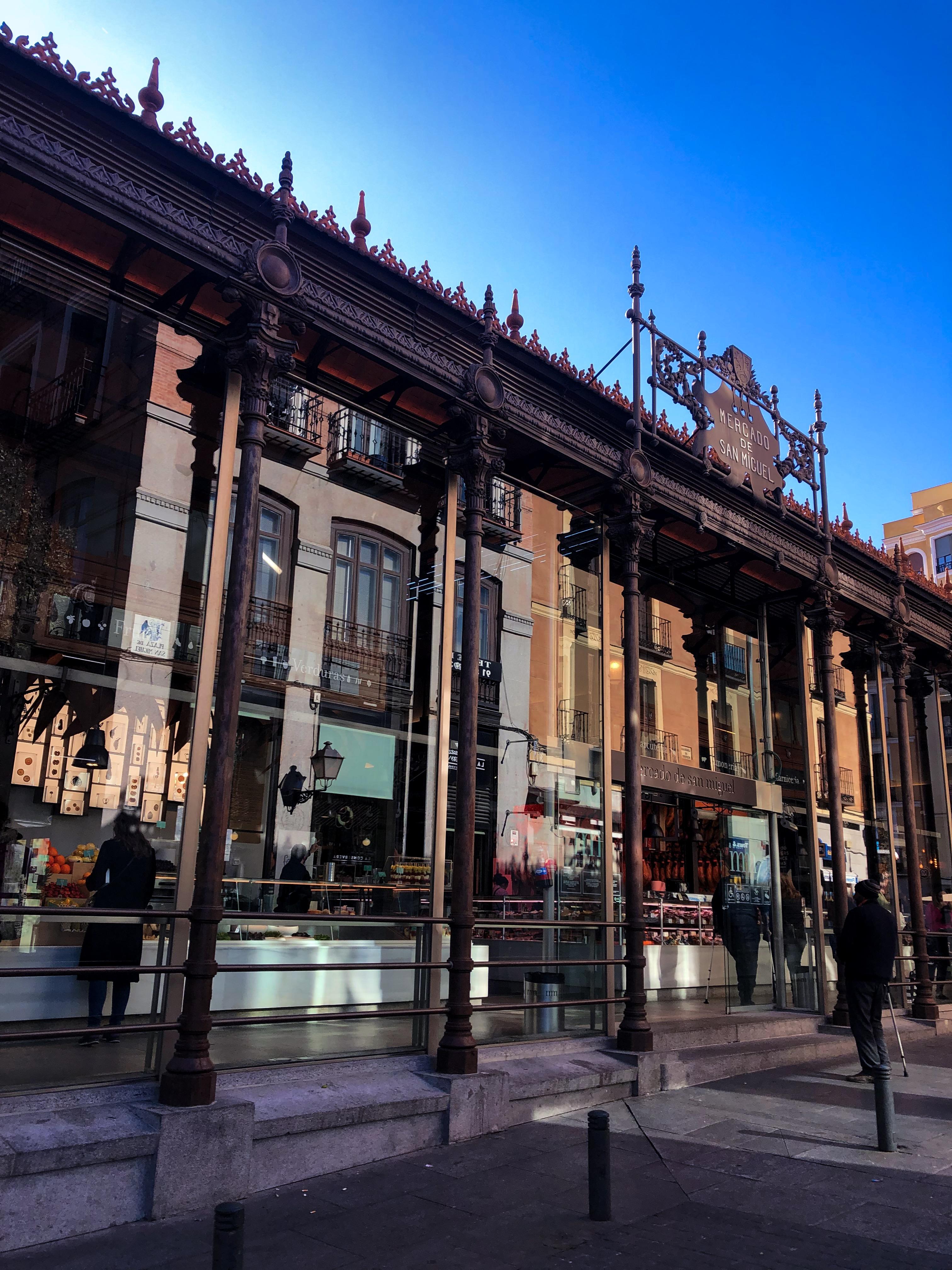 Madrid, Spain Mercado de San Miguel