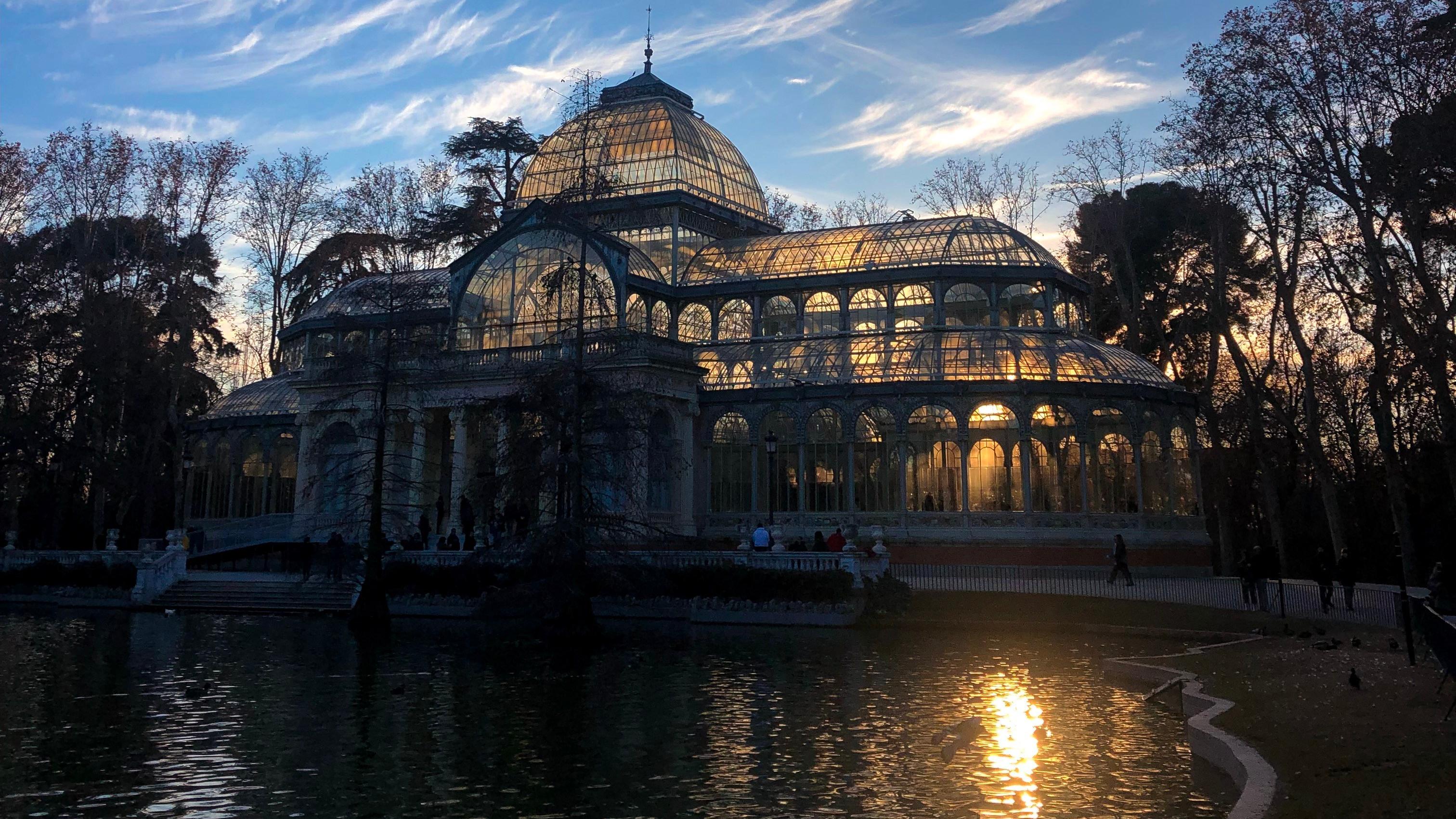 Madrid, Spain Palacio de Cristal