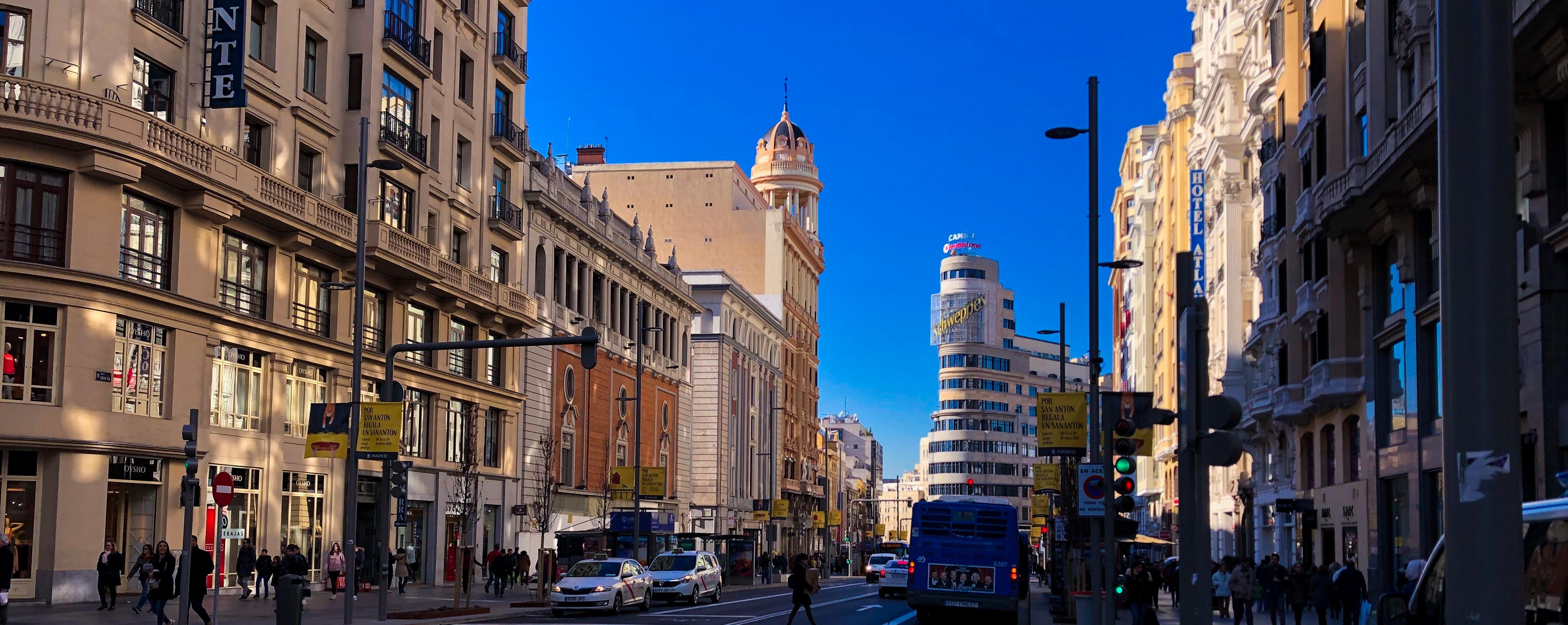 Madrid, Spain gran via