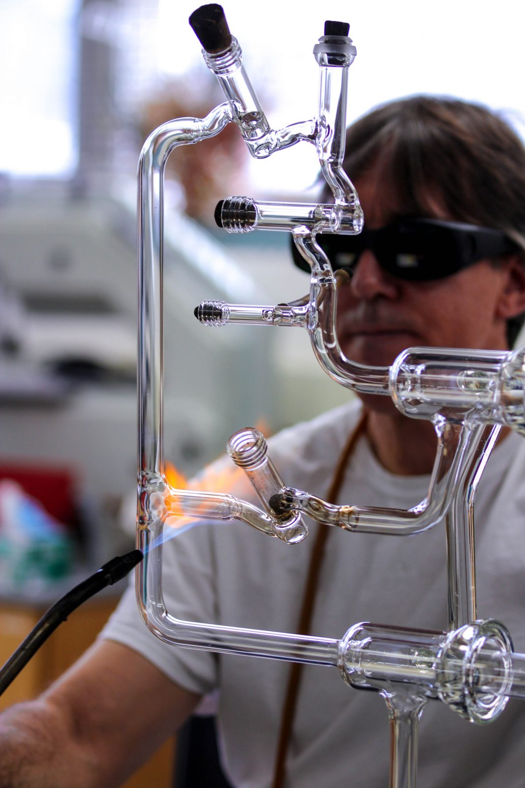 Glassblowing at Chemistry
