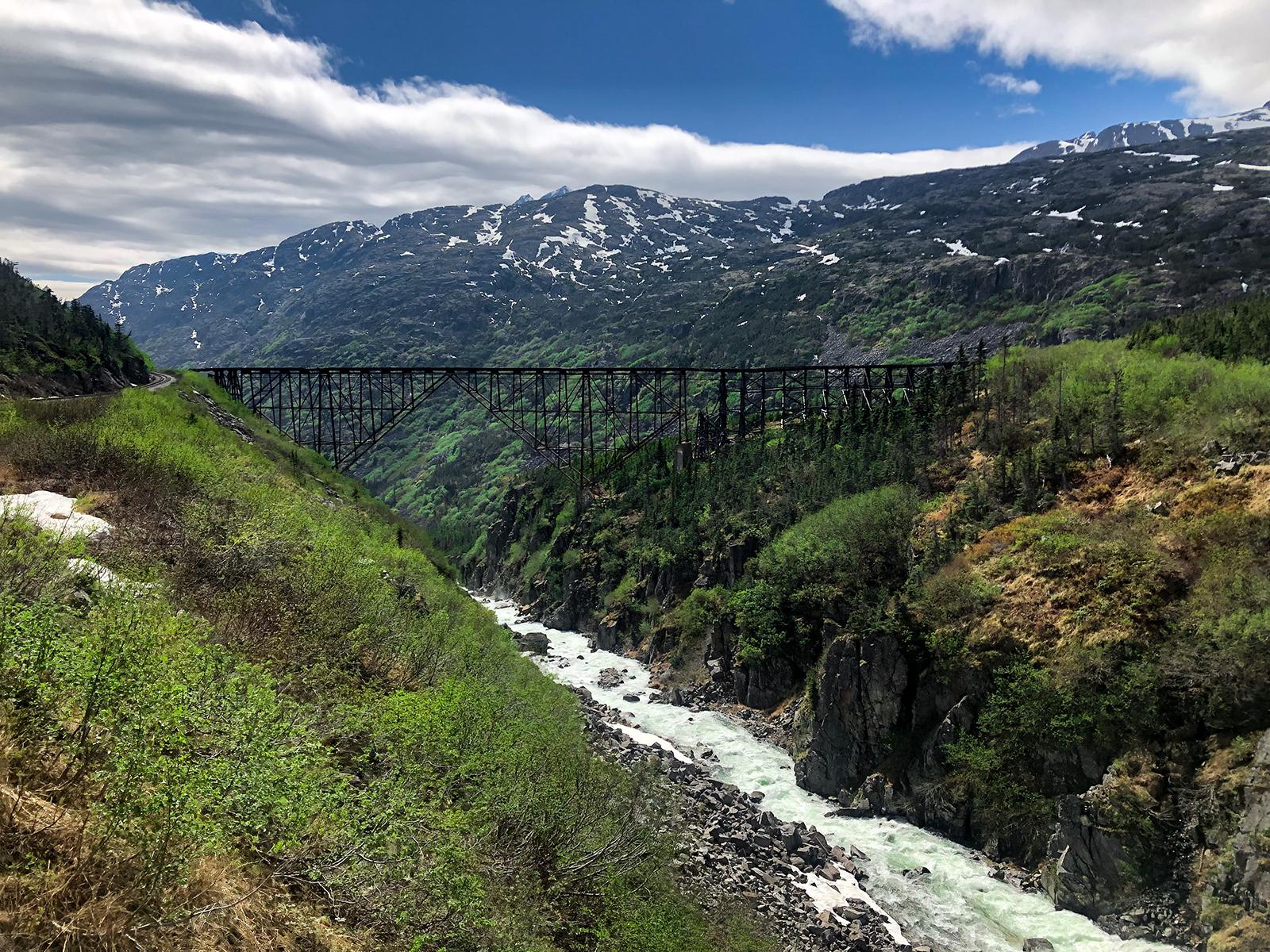 White Pass Rail Skagway, Alaska